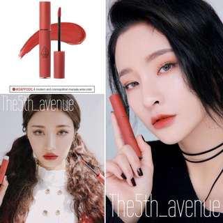 [Instock] 3CE Velvet Lip Tint #Daffodil (authentic)