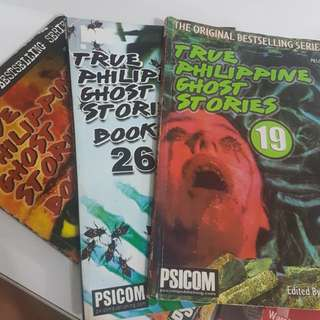 True Philippine Ghost Stories and other horror books