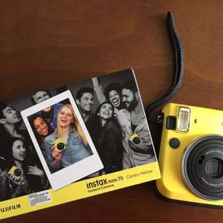 2nd hand Fujifilm Instax Mini 70