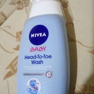Nivea baby head to toe wash