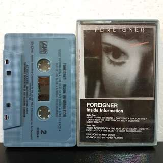 Cassette》Foreigner- Inside Information