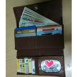 Wallet Leather ORI Fossil