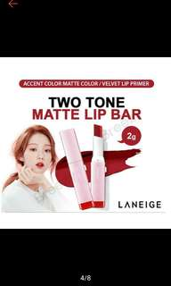 [PO] Laneige Two Tone Lip Bar