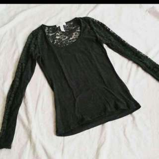 Imported Lace Long sleeves