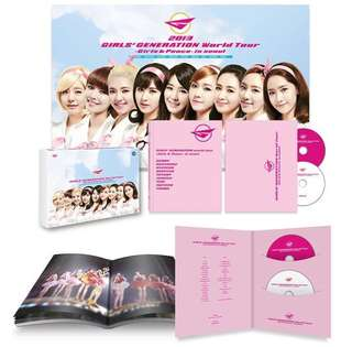 "少女時代 World Tour ""GIRLS & PEACE IN SEOUL"" DVD"
