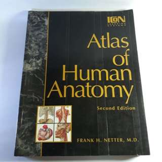 Atlas of Human Anatomy 2nd Edition (Colored)