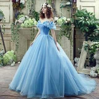 Pre order Cinderella Organza dress party