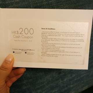 $200 Joman cash coupon wedding makeup big day pre-wedding