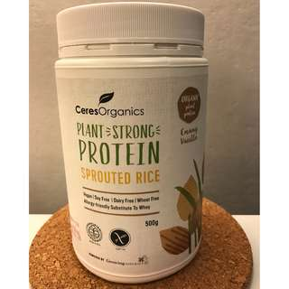 CERES ORGANICS Plant Strong Sprouted Rice Protein
