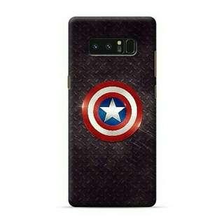 Captain America Steel Samsung Galaxy Note 8 Custom Hard Case