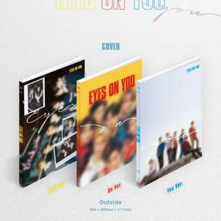 [UNSEALED/ NO PC NO POSTER NO POB] GOT7 EYES ON YOU