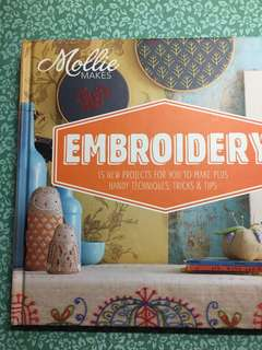 BN Mollie Makes Embroidery projects book