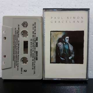 Cassette》Paul Simon - Graceland