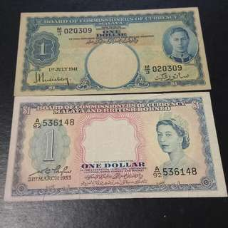 Old note 1941 n1953 year