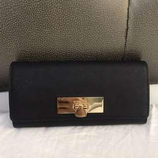 MK Saffiano wallet