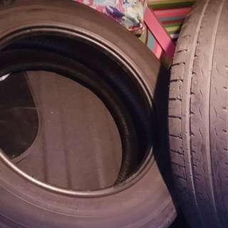 Hyundai accent tires kumho 2pcs
