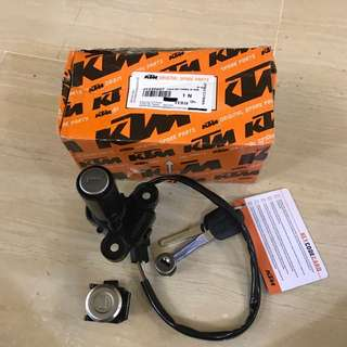 KTM Duke Key lock set