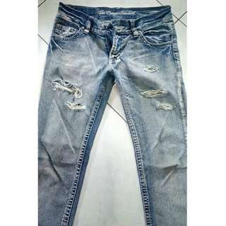 Ripped jeans slim fit