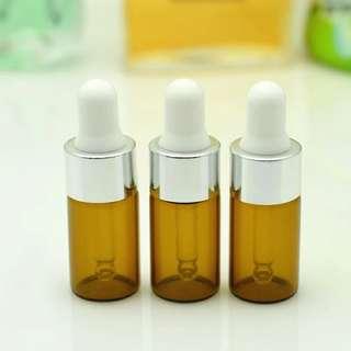 essential oil bottle glass amber bottles 3ml