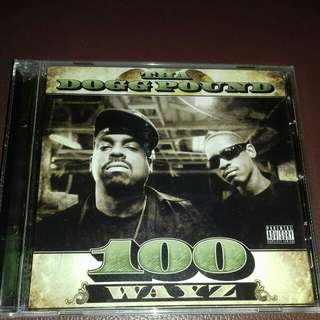 Tha Dogg Pound 100 Wayz rare original USA pressing cd used Rap, RBX, Snoop dogg, the lady of rage