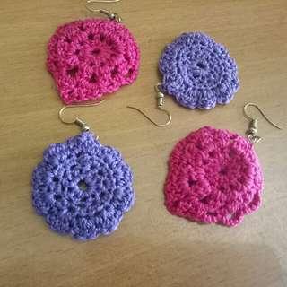 Crochet Summer Earrings