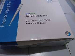 BNIB Pipette tips