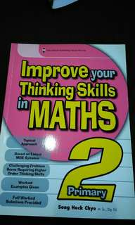 Children math workbook