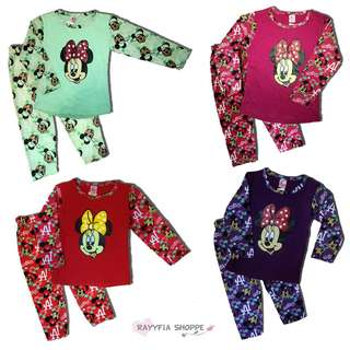 Baby Girls Minnie Mouse Pyjamas