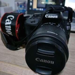 Canon EOS 100D (Body + 18-55m Lens)