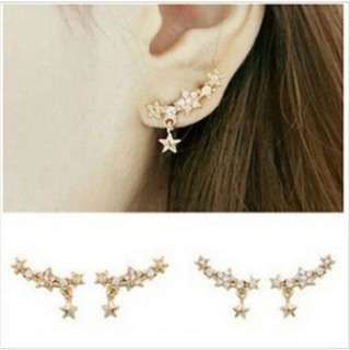 Korean Earrings - twinkle dangling studs