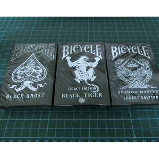 Bicycle black legacy set (playing cards)