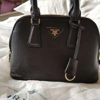 Prada saffiano promenade bag (not authentic)
