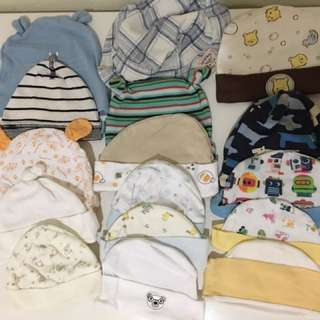 Assorted Brands of baby hat/cap. .