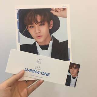 WTT Wanna One Bae JinYoung Cover Card