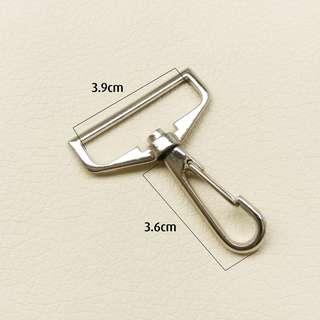 10 pcs Bag Clasps Lobster Hook Swivel Trigger Clips Snap Hook Set For Webbing