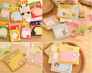 Korea Sticky Memo Note Pad Post It Note