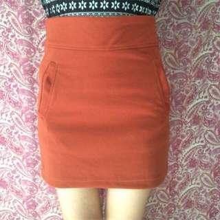 NEW! brown skirt (uptown girl)