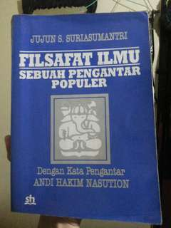 Buku Filsafat Ilmu