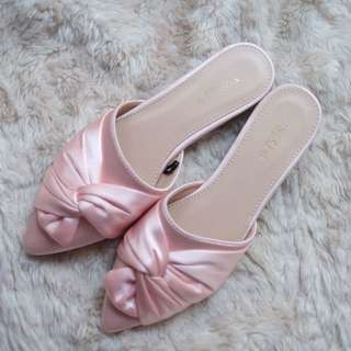 Vincci Flat Shoes Loafers baby pink