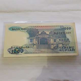 Uang 1.000 sisingamangaraja
