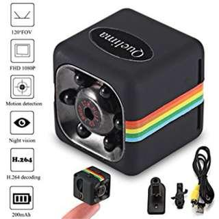 SQ11 Mini Camera 1080P HD Camcorder with Night Vision