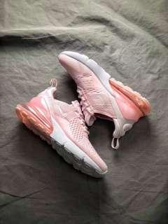 Nike Air Max 270粉色波鞋