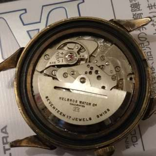 Vintage Helbro Power Reserve Automatic Watches 古董手錶