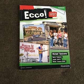 Ecco Uno Textbook