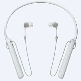 SONY Wireless In-ear Headphones - WI-C400 - White