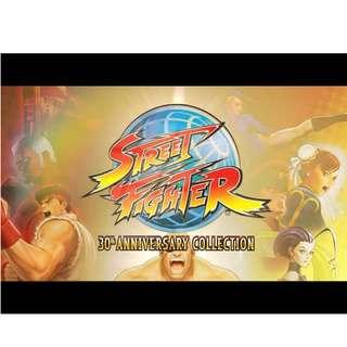 (預訂) PS4 Street Fighter 30th Anniversary Collection (亞洲英文版)