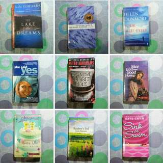 24 Books for Php 500