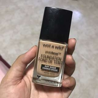 Wet n Wild Photofocus Foundation Buff Bisque