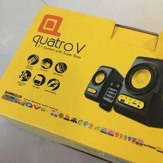 Sonic Gear Quatro V Speaker