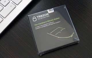 Trezor wallet brandnew sealed box 100%